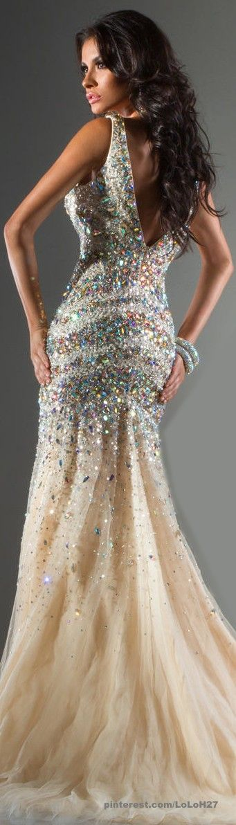 Tony Bowls Dress. I would never have anywhere to wear this but love all the detail on it.