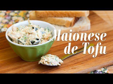Como fazer Maionese de Tofu e Patê de Nori com Cenoura - YouTube