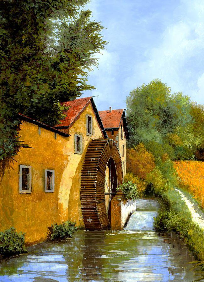 Il Mulino Ad Acqua Pintura