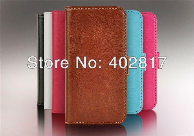 Искусственная кожа чехол для iphone 5 5 г бумажник чехол дизайн стенда с карты 6 цвета оптовая продажа бесплатная доставка