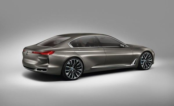 2014 BMW Vision Future Luxury Side 600x366 2014 BMW Vision Future Luxury Review With Images