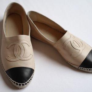 Beige Chanel Espadrilles For sale!