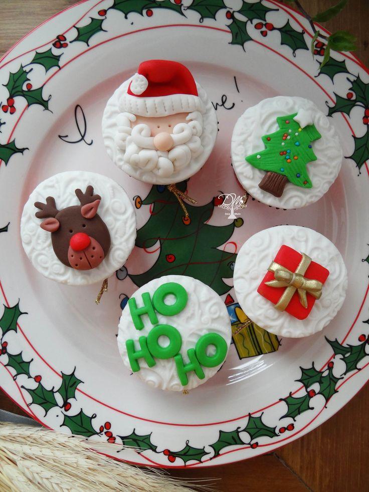 Cupcakes fofos Natalinos!