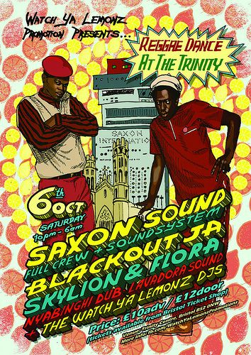 Poster for a Soundsystem event in Bristol