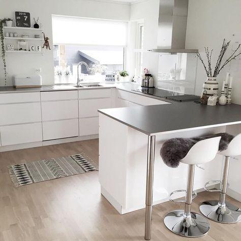 Ideas de barras desayunadoras para tu cocina http://cursodeorganizaciondelhogar.com/ideas-de-barras-desayunadoras-para-tu-cocina/
