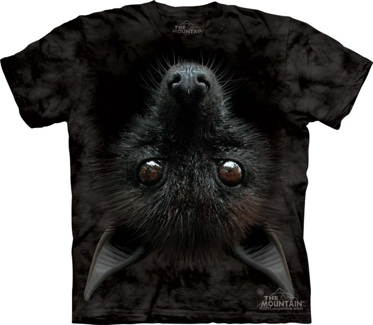 Bat Head Shirt by the Mountain @Click image to purchase