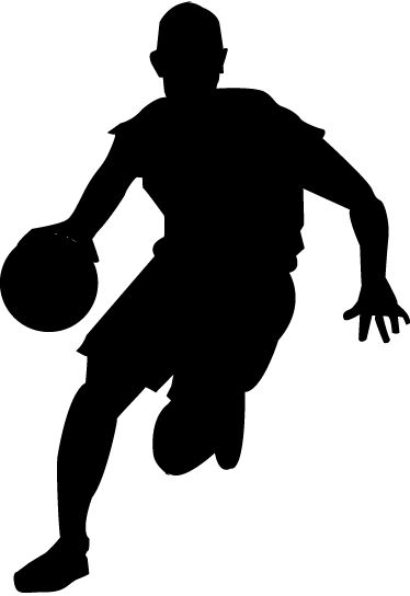 Vinyl Decals Near Me >> Image result for basketball silhouettes for little boys | boy's room | Basketball room ...