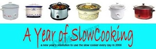 Lots of great slow cooker recipes. One years worth of recipes. Will have to try some of these.