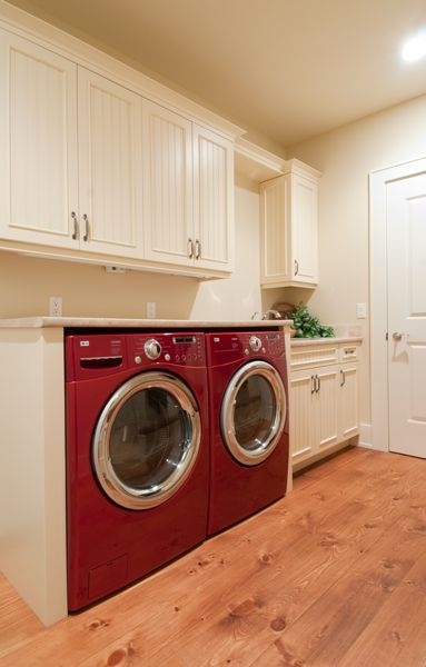 candy apple red washer and dryer? YES!