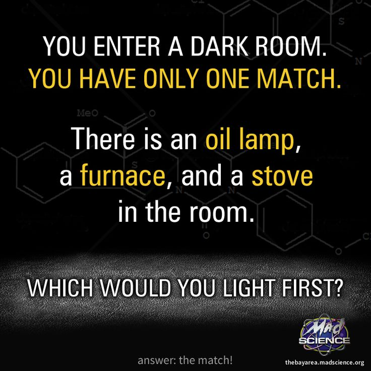 Riddle of the day!! #Science #logic