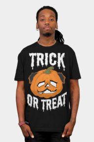 Trick or Treat Pug Mens T Shirts