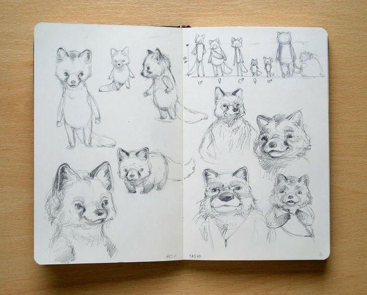 Adelaida - Art, illustration and craft blog of Aleksandra Chabros: From my sketchbook #16
