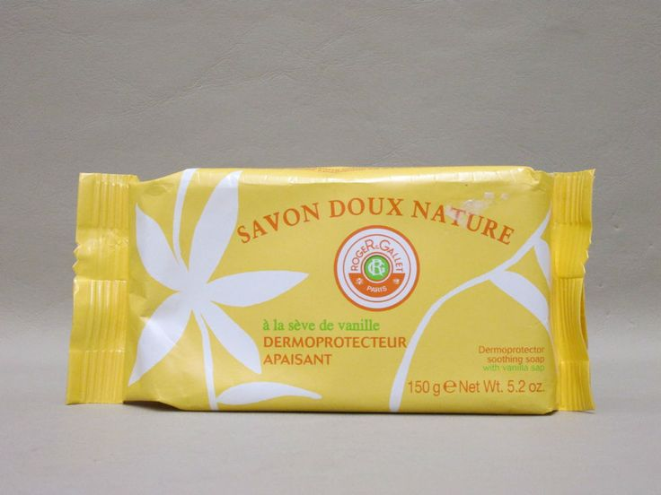 Savon Doux Nature With Vanilla Sap Soap By Roger & Gallet 150gr 5.2ozNWt. #RogerGallet