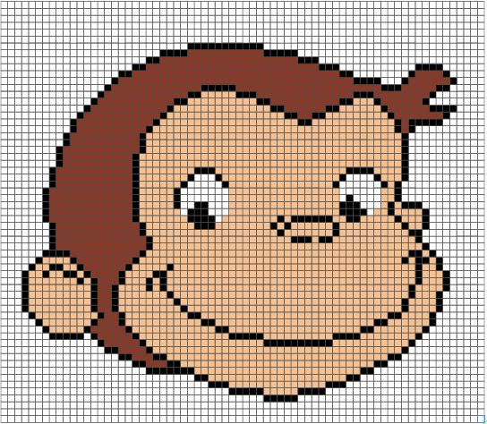 Curious George Pattern By Hugs Are Fun Would Love To Make