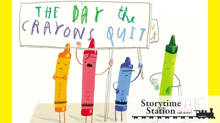 The Day the Crayons Quit by Drew Daywalt - Books for kids read aloud!