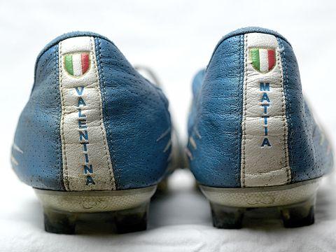 Roberto Baggio's football boots