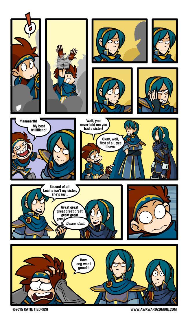 AWKWARD ZOMBIE - Hired Emblem (Part2) - Super Smash Bros. 4
