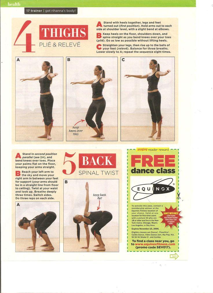 Rihanna Dance Workout Part 3