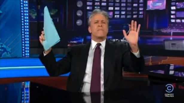 Jon Stewart levels Rick Perry: 'Being gay is not a choice, but being a Texas Republican is'