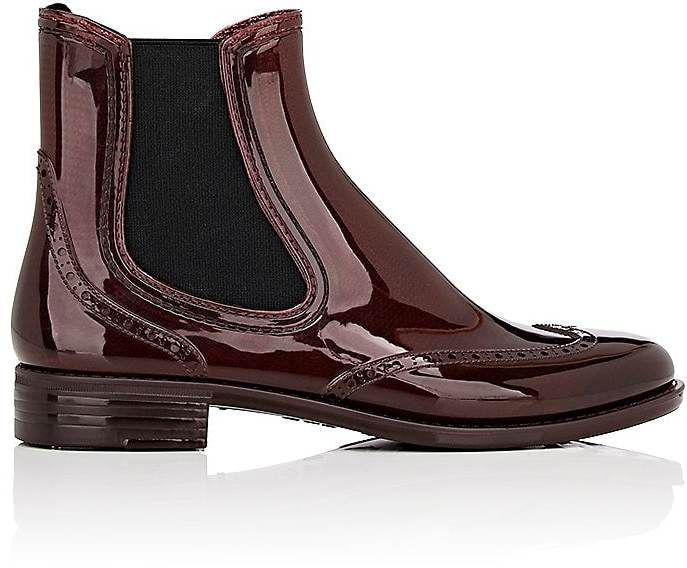 Barneys New York Women's Wingtip Rubber Rain Boots  #affiliate