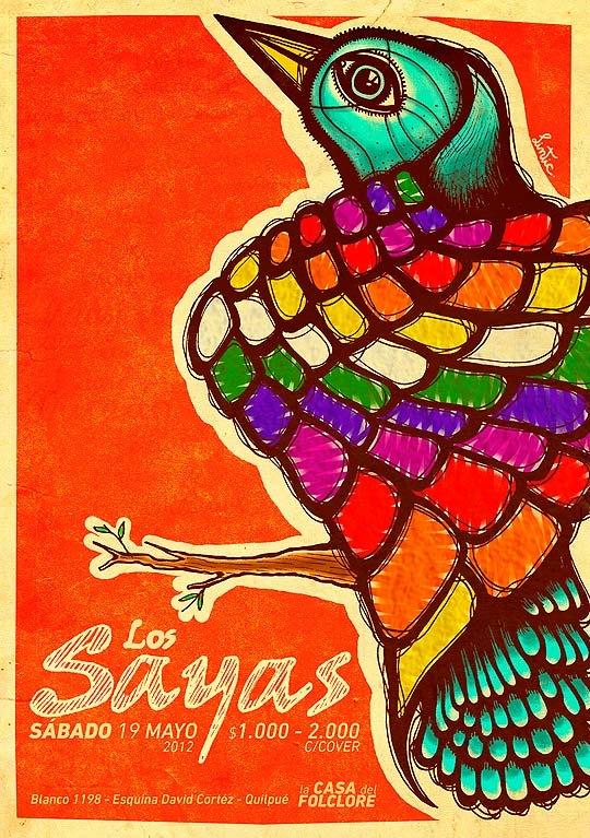 Ilustración. Ilpakamani de INTI GONZÁLEZ Aka LINTIC : ColectivoBicicleta | Revista digital /Artes visuales. ilustración y diseño Colombia y Latinoamerica