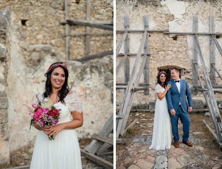 Bougainvillea Wedding | lafete / Kefalonia / bride / groom / hapiness