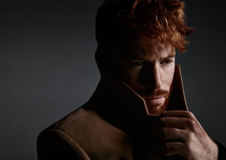 Out in the Dark–Redhead models seem to be having all the fun these days. Hot on the heels of Thomas Knights' redhead exhibition, Ferry Menly magazine featu
