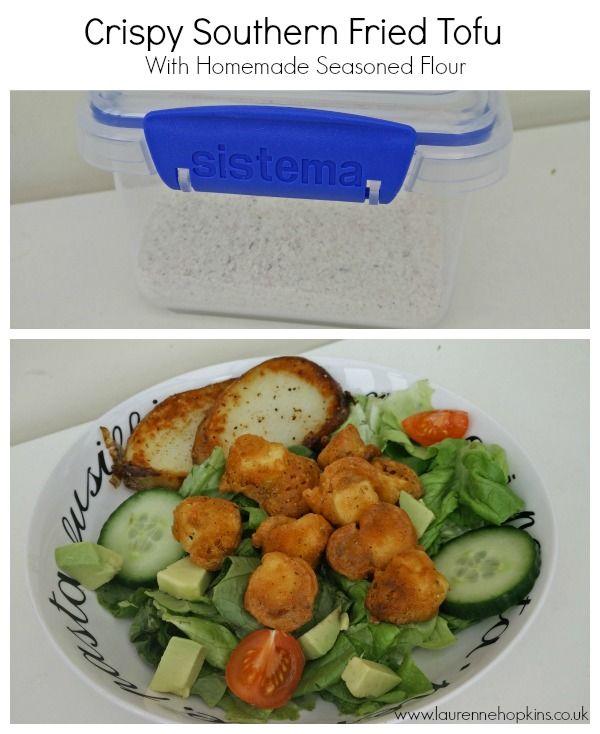 Southern Fried Tofu 'Chicken' Recipe - http://www.laurennehopkins.co.uk/southern-fried-tofu-chicken-recipe/