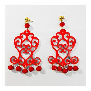 Guendalina Bottega Creativa Chandelier Rosso