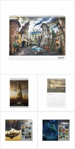 2016 Fantasy & Surreal Calendars