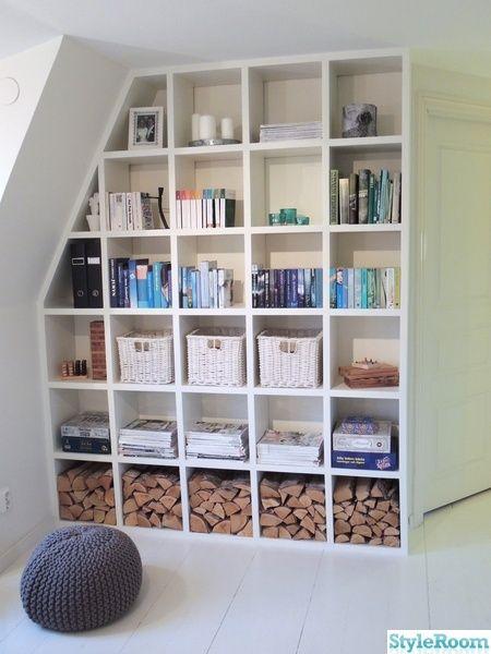 platsbyggd bokhylla med belysning - Sök på Google
