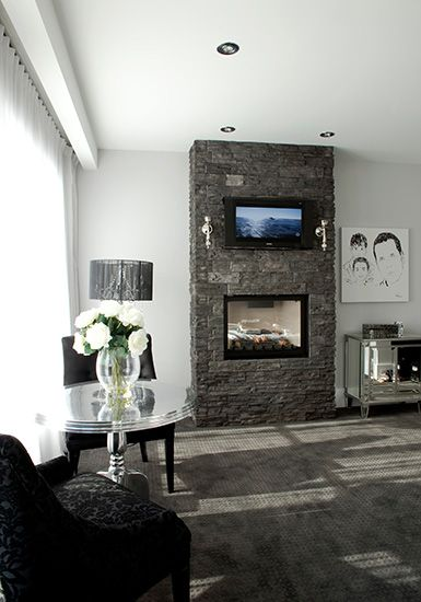 Les 72 meilleures images propos de pierre d 39 int rieur leeroc sur pinterest pierre briques - Briquette decorative interieure ...