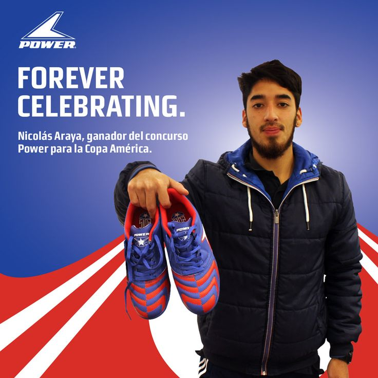 Do you want free Power shoes too? Follow us! #PlayOn