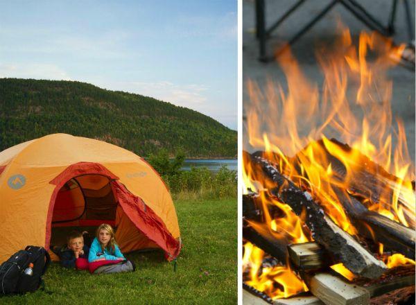 Places to camp in Quebec - Les meilleurs terrains de camping au Québec