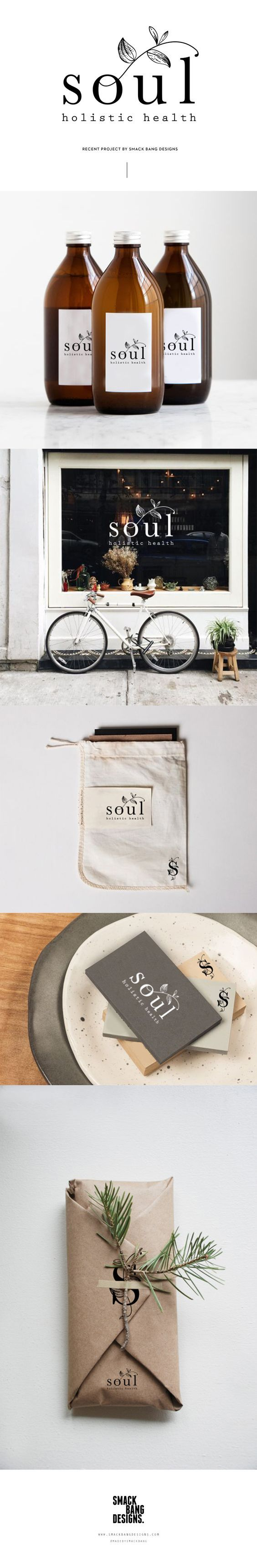Soul Holistic Health Branding by Smack Bang Designs | Fivestar Branding Agency – Design and Branding Agency & Curated Inspiration Gallery #design #designinspiration #logo #logoinspirations #branding #brand #brandidentity