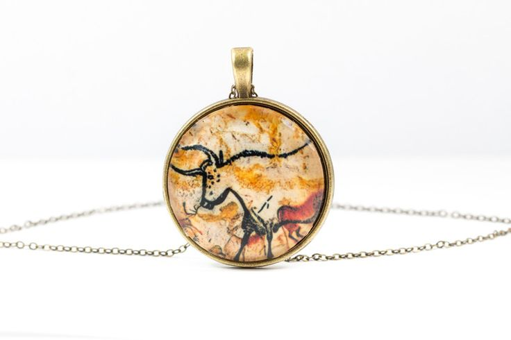 Lockets – Buffalo Necklace [Cave Art Collection] – a unique product by Art-Of-Nature on DaWanda
