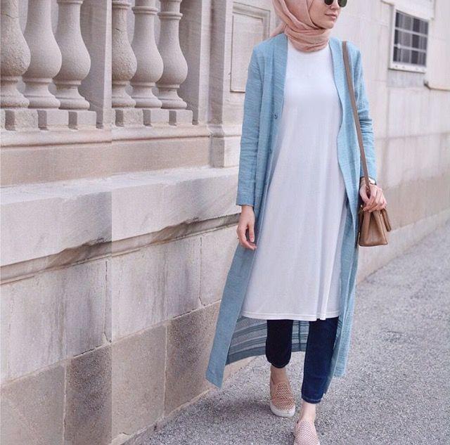 Casual hijabi