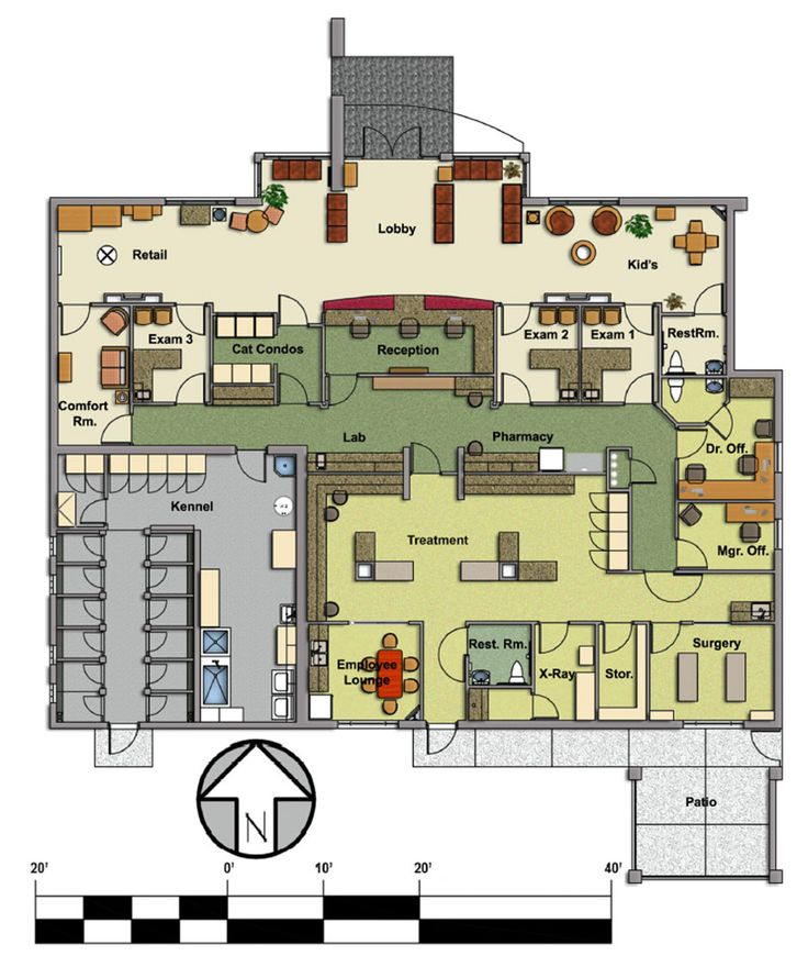 Veterinary Floor Plan Pet Paradise Animal Hospital