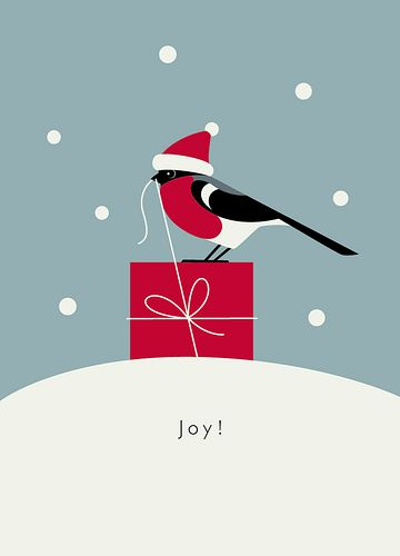 https://flic.kr/p/5pwyVT | Maria Zaikina | Joy! | christmas card