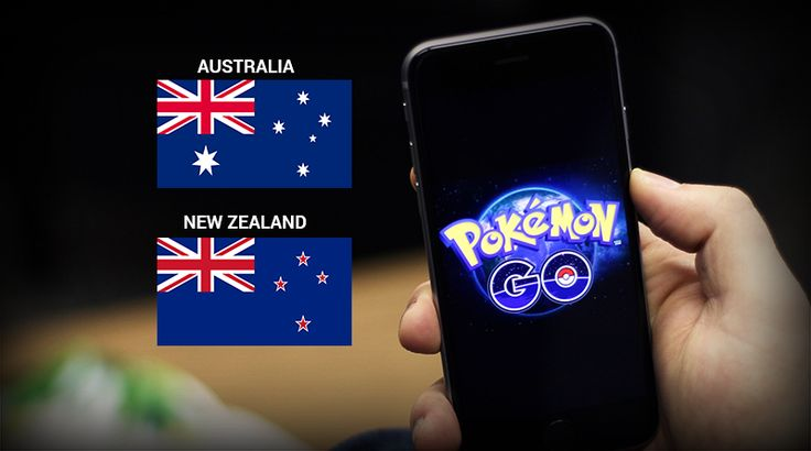 Field Testing of Pokemon GO extends in Australia and New Zealand