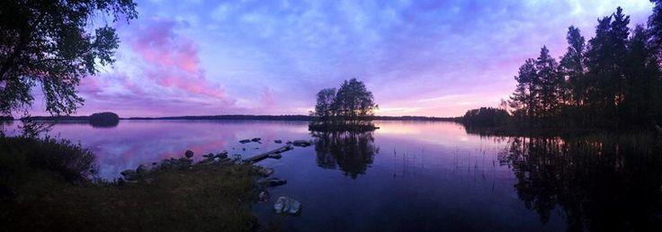 Sunset @Hirvensalmi
