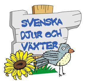 Svenska djur och växter att printa ut