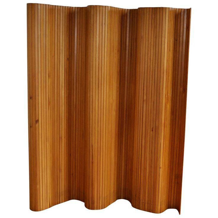 "Screen ""Model 100"" - Alvar Aalto  Finland  designed 1936  ""Model 100"" folding screen in wood by Alvar Aalto, Finland."