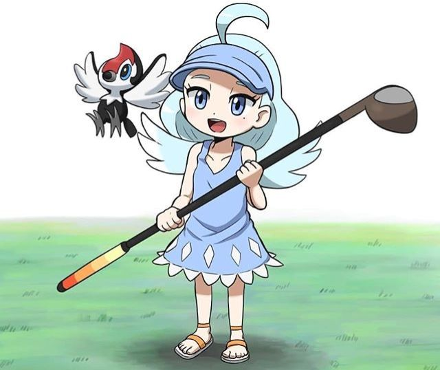 Smol!Kahili, Pokemon Sun and Moon | Pokemon Thingz | Pokemon
