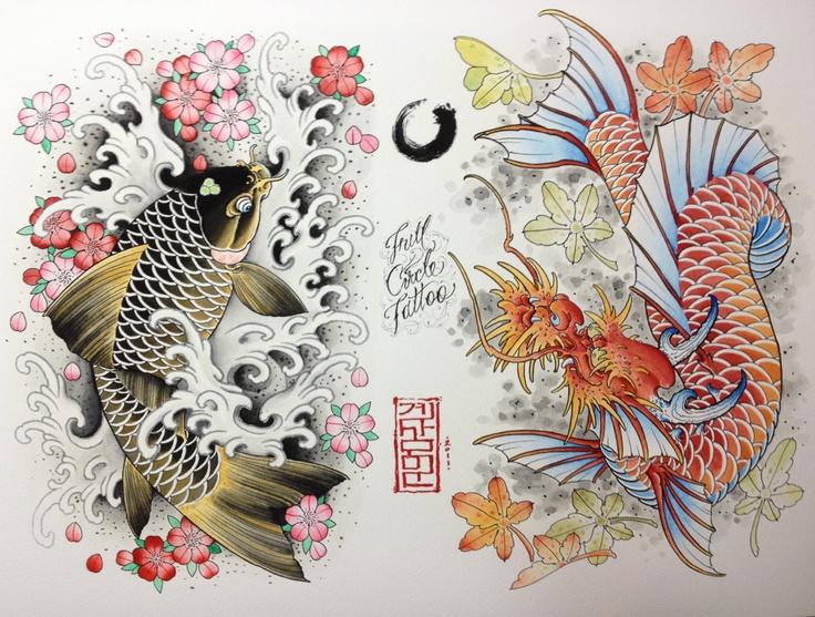 1000 ideas about koi dragon tattoo on pinterest koi for Dragon koi fish for sale