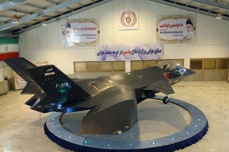 """The Aviationist » """"Tehran's newly unveiled stealth fighter will protect the Persian Gulf,"""" Iranian official says"""