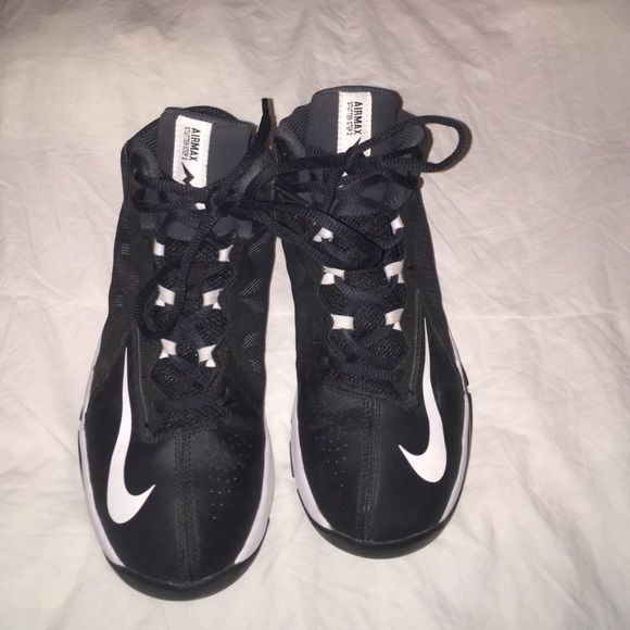 Nike basketball shoes Airmax Stutter Step 2s! Worn for half a season!! U.S. Size 5W. Very comfortable, enjoyed playing in them! Nike Shoes Athletic Shoes