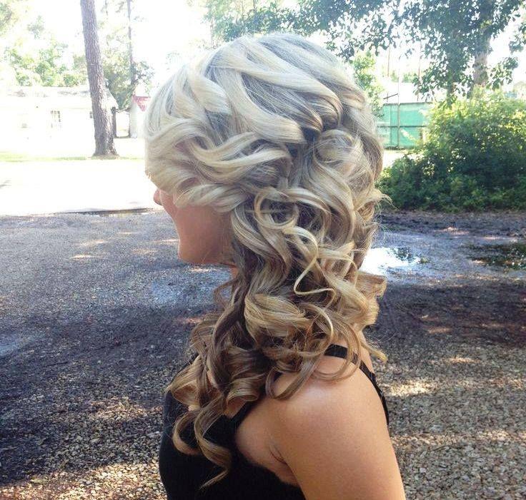Prom Hair - Half Up, Half Down