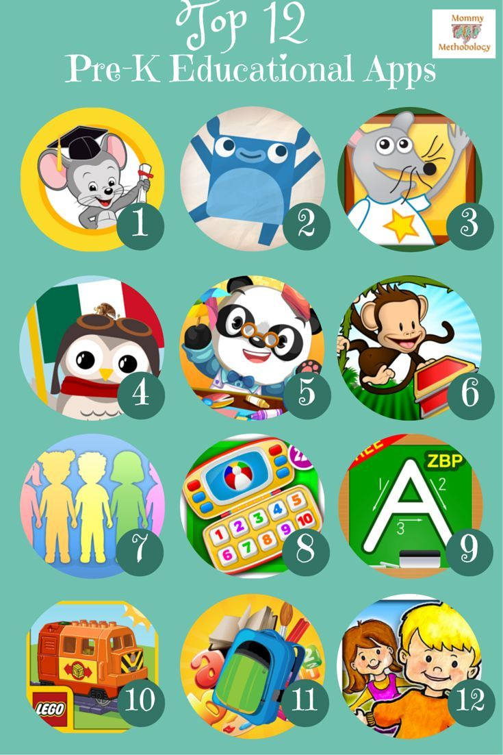 Top 12 Pre-K Educational Apps for Kindle & Android Parent Reviews Included - a MUST for any parent who wants their child to learn while using technology for play | Read More at mommymethodology.com