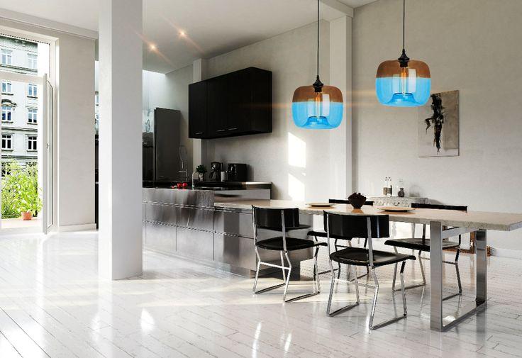 Lampa wisząca - Light Prestige - Tropea niebieska